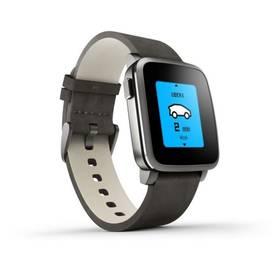 Pebble Time Steel Smartwatch (51100024) černá Dooble KIDS ADC Blacfire (zdarma) + Doprava zdarma