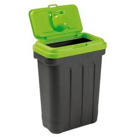 Maelson Dry Box 15 kontejner na suché krmivo 15 kg čierne/zelené