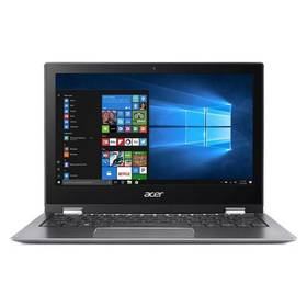 Acer Spin 1 (SP111-32N-P6V8) + stylus (NX.GRMEC.002) sivý