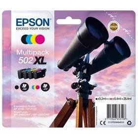 Epson 502 XL multipack, 550/3x470 stran, CMYK (C13T02W64010)