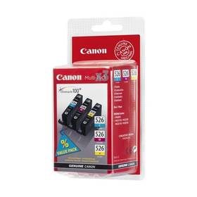Canon CLI-526 C/M/Y, 340 stran - originální (4541B006) červená/modrá/žlutá