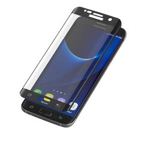 InvisibleSHIELD Glass Contour pro Samsung Galaxy S7 Edge - černý rám (ZGG7ECGS-BK0)