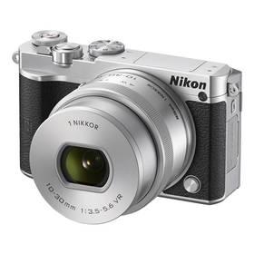 Nikon 1 J5 + 10-30mm (VVA243K001) stříbrný + Doprava zdarma