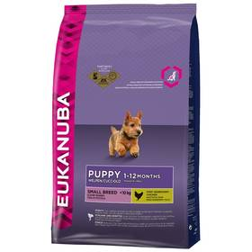 Eukanuba Puppy & Junior Small Breed 7,5 kg + Doprava zdarma