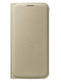 Puzdro na mobil flipové Samsung pro Galaxy S6 (EF-WG920BF) (EF-WG920BFEGWW) zlaté