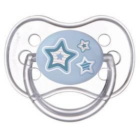 Canpol babies NEWBORN BABY silikonové třešinka 6-18m modré