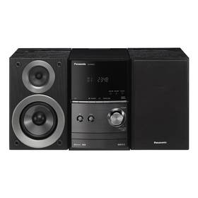 Panasonic SC-PM600EG-K černá/hliník + Doprava zdarma