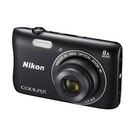 Nikon Coolpix S3700 černý
