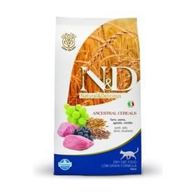 N&D Low Grain CAT Adult Lamb & Blueberry 5 kg + Doprava zdarma