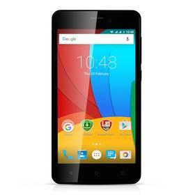 Prestigio Muze A5 Dual SIM (PSP5502DUOBLACK) černý + Software F-Secure SAFE 6 měsíců pro 3 zařízení v hodnotě 999 Kč jako dárek+ Voucher na skin Skinzone pro Mobil CZ v hodnotě 399 Kč jako dárek + Doprava zdarma