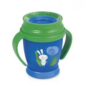 LOVI 360 MINI Rabbit s úchytky 210ml zelený