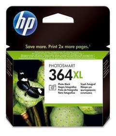 HP No. 364XL, 290 stran, foto černá, (CB322EE)