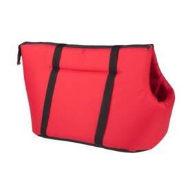 Argi pro psa z polyesteru červená - 42 x 26 x 30 cm