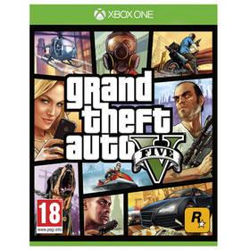 RockStar Xbox One Grand Theft Auto V (427709) + Doprava zdarma