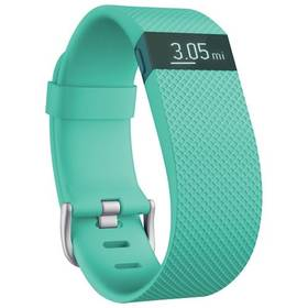 Fitness náramok Fitbit Charge HR (Large) - Teal (FB405TEL-EU)