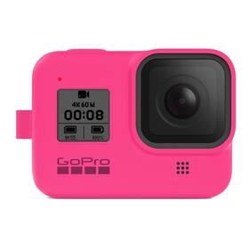 GoPro Sleeve + Lanyard (HERO8 Black) - růžový