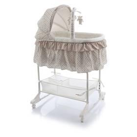 Babypoint Regina Flower bílá/béžová + Doprava zdarma