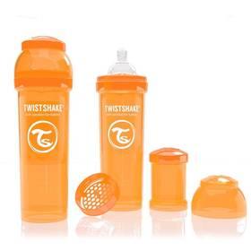 Twistshake antikoliková 330ml, orange oranžová
