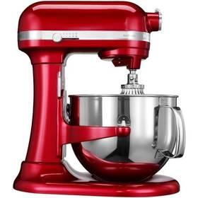 KitchenAid Artisan 5KSM7580XECA červený Příslušenství k robotu KitchenAid 5KR7SB mísa 6,9 l (leštěný nerez) (zdarma) + Doprava zdarma