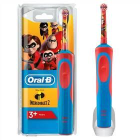 Zubní kartáček Oral-B Vitality Kids Incredibles 2 (Náhradní obal / Silně deformovaný obal 8800317239)