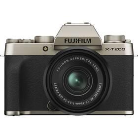 Fujifilm X-T200 + XC15-45 černý/zlatý