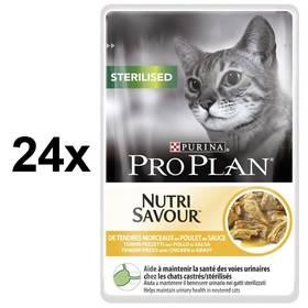 Purina Pro Plan CAT STERILISED Kuře 24 x 85g