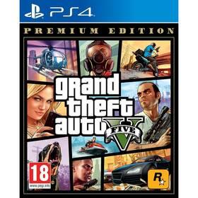 RockStar PlayStation 4 Grand Theft Auto V - Premium Edition (5026555424264)