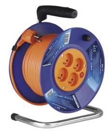 EMOS 4x zásuvka, 20m (DG-4ZR-F04) oranžový