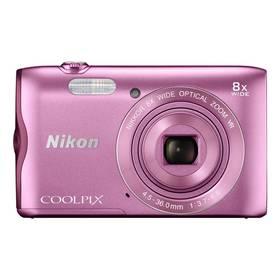 Nikon Coolpix A300 růžový + Doprava zdarma