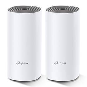 Komplexní Wi-Fi systém TP-Link Deco E4 (2-pack) + IP TV na 1 měsíc ZDARMA (Deco E4(2-pack)) bílý