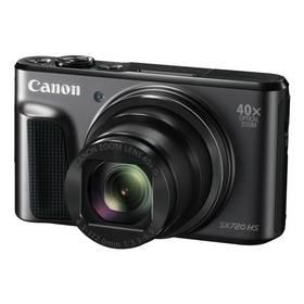 Canon PowerShot SX720HS (1070C002) černý Paměťová karta Kingston MicroSDHC 16GB UHS-I U1 (45R/10W) + adapter (zdarma) + Doprava zdarma