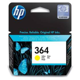 HP No. 364, 300 stran - originální (CB320EE) žlutá