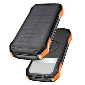 Viking S12W, 12 000 mAh, bezdrátové nabíjení, outdoor (VS12WO) čierna/oranžová