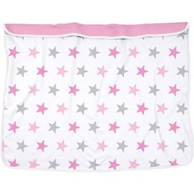 Dooky Blanket Pink Stars/Baby Pink