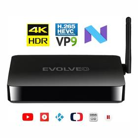 Evolveo MultiMedia Box M4 (MMBX-M4-HDR) černý