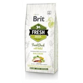 Brit Fresh Dog Duck with Millet Active Run & Work 12 kg