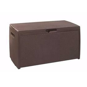 Keter Rattan Box hnědý + Doprava zdarma