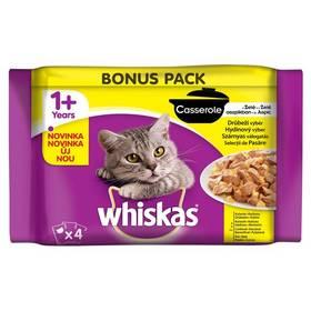 Whiskas Casserole hydinový výber v želé 4 pack 4x 85 g