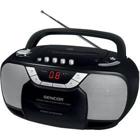 Radiopřijímač s CD Sencor SPT 207 černý