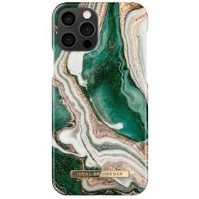 iDeal Of Sweden Fashion na Apple iPhone 12/12 Pro - Golden Jade Marble (IDFCAW18-I2061-98)