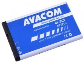 Avacom pro Nokia 6303, 6730, C5, Li-Ion 3,7V 1050mAh  (náhrada BL-5CT) (GSNO-BL5CT-S1050A)