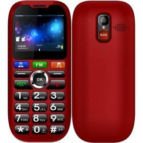 CUBE 1 S100 Senior Dual SIM (MTOSCUS100051) červený
