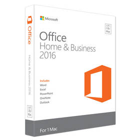 Microsoft Office 2016 ENG pro Mac Mac Home and Business (W6F-00550) + Doprava zdarma