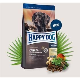 HAPPY DOG CANADA Grainfree 12,5 kg Konzerva HAPPY DOG Rind Pur - 100% hovězí maso 200 g (zdarma) + Doprava zdarma