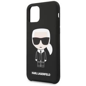 Karl Lagerfeld Iconic pro Apple iPhone 11 Pro Max (KLHCN65SLFKBK) černý
