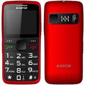 Aligator A675 Senior (A675RD) červený