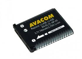 Avacom pro Olympus Li-40B/Li-42B, Fujifilm NP-45, Nikon EN-EL10 Li-ion 3.7V 740mAh (DIOL-LI40-AVA) + Doprava zdarma