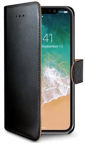 Celly Wally pro Apple iPhone X (WALLY900) černé