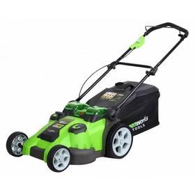 Greenworks G40LM49DB (bez baterie) + Doprava zdarma