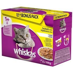Whiskas Drůbeží výběr v želé 12pack